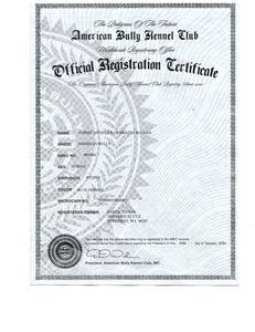 Mysti ABKC Registration 1